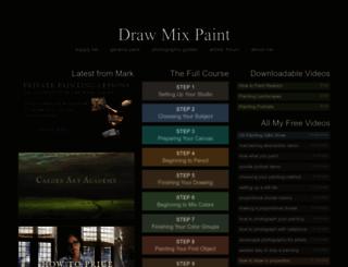 drawmixpaint.com screenshot