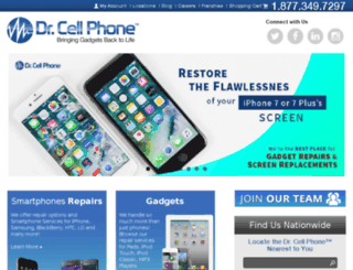drcellphone.com screenshot