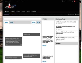 drcricket7.com screenshot