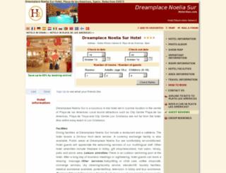 dream-hotel-noelia-sur.h-rez.com screenshot