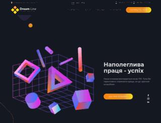 dream-line.com.ua screenshot
