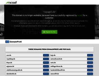 dream-melody.repage5.de screenshot
