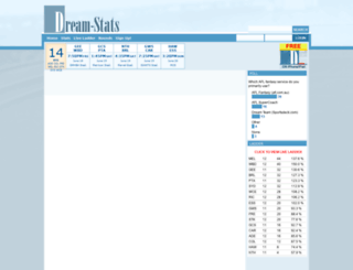 dream-stats.com screenshot