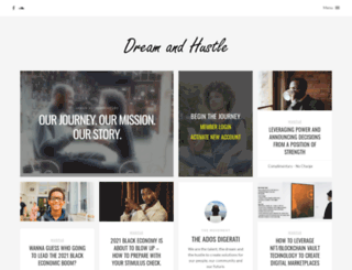 dreamandhustle.com screenshot