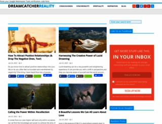 dreamcatcherreality.com screenshot