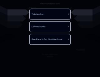 dreamcomestour.com screenshot