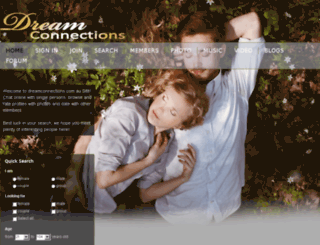 dreamconnections.com.au screenshot