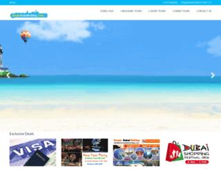 dreamdubaiholiday.com screenshot