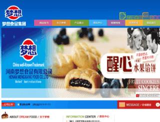 dreamfood.cn screenshot