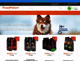 dreampetstore.com screenshot