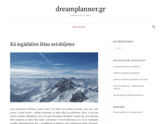 dreamplanner.gr screenshot
