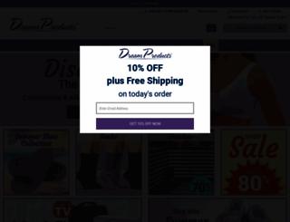 dreamproducts.com screenshot