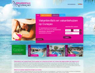 dreamrentalscuracao.nl screenshot
