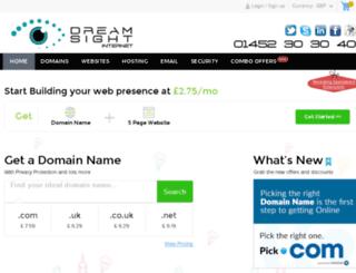 dreamsight.net screenshot