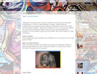 dreamtattoos.blogspot.com screenshot