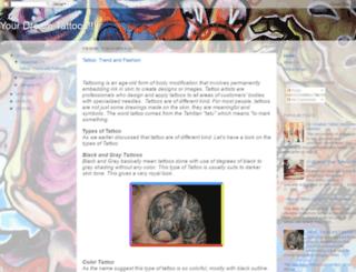 dreamtattoos.blogspot.in screenshot