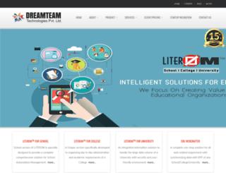 dreamteam.co.in screenshot