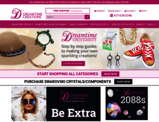dreamtimecreations.com screenshot