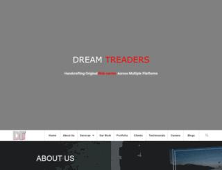 dreamtreaders.com screenshot