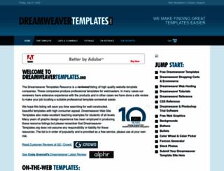 dreamweaver-templates.org screenshot