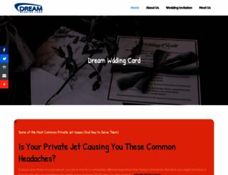 dreamweddingcard.com screenshot