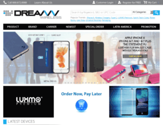 dreamwireless.com screenshot
