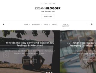 dreamyblogger.com screenshot