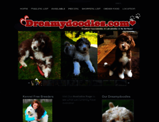 dreamydoodles.com screenshot