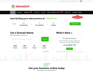 dreamzsop.co.in screenshot