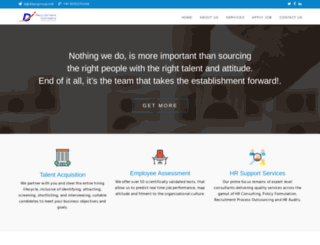 drecruitmentcompany.com screenshot
