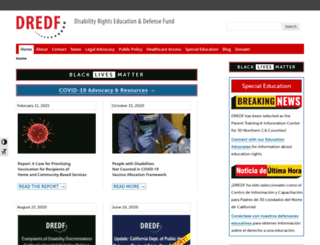 dredf.org screenshot