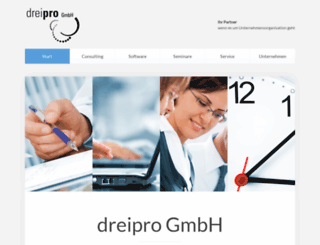 dreipro.net screenshot