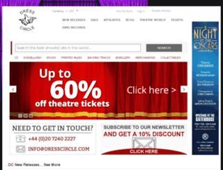 dresscircle.com screenshot