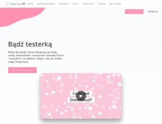 dresscloud.pl screenshot