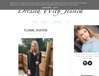 dressedwithjessica.co.uk screenshot