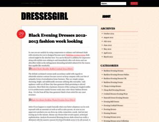dressesgirl.wordpress.com screenshot