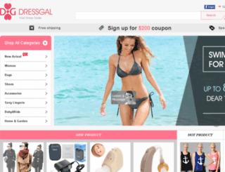 dressgal.com screenshot