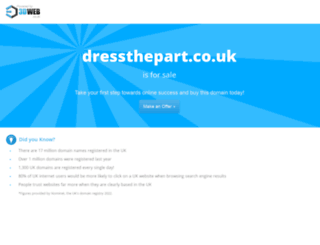 dressthepart.co.uk screenshot