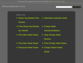 dressupdown.com screenshot