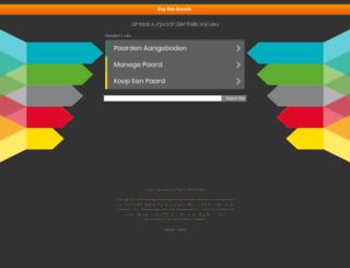 dressuurpaardentekoop.eu screenshot