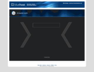 dreszon.com screenshot