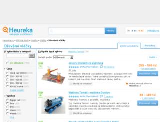drevene-vlacky.heureka.cz screenshot