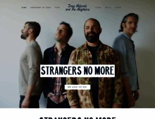 drewholcomb.com screenshot