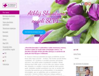 drfeldmanis.lv screenshot