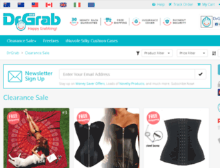 drgrab.com.au screenshot