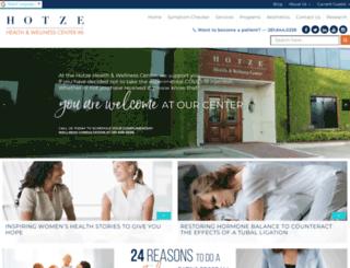 drhotze.com screenshot