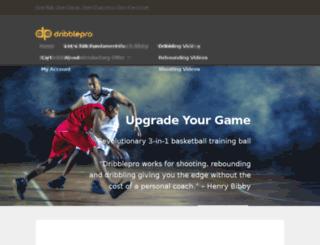 dribblepro.com screenshot