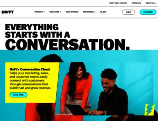 driftt.com screenshot