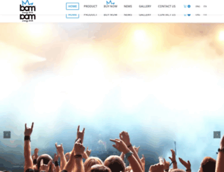 drinkbam.com screenshot