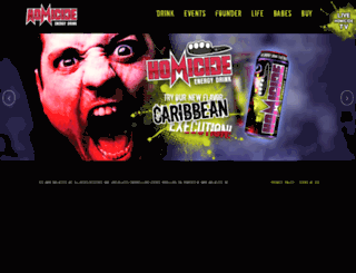 drinkhomicide.com screenshot